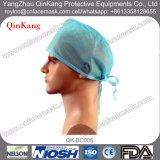 Casquillo médico del pelo, casquillos quirúrgicos disponibles, casquillo no tejido del oficio de enfermera