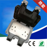 UK Type Outdoor Waterproof IP66 Wall Switch and Socket