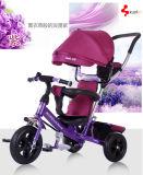 Multifunktionsbaby-Dreirad, 4 in 1 Baby-Wanderer-Dreirad, Luft-Gummireifen-Baby-Dreirad