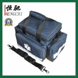 Le sac médical Emergency de premiers soins de couleur rouge caché portent le sac