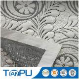 Poly tissu de jacquard de Knit de la qualité 100% pour le matelas de latex