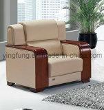 Sofà di cuoio moderno della nuova mobilia dell'ufficio progetti (SF-636W)
