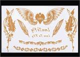 Tatoegering van de Kunst van de Stickers van de Tatoegering van de manier de Tijdelijke Waterdichte