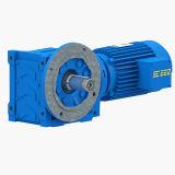 Reductor helicoidal del borde del IEC del cartabón estándar de la caja de engranajes