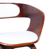 Placage de noyer le contreplaqué chaise de salle à manger