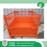Gabbia di logistica del metallo per il magazzino con approvazione del Ce da parte di Forkfit