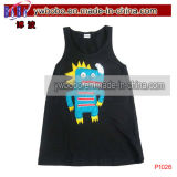 Party Gift Kids Tank Top Visage Bébé Accessoires Vêtements pour bébés (P1027)