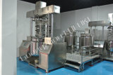 100L, 200L, 500L de aço inoxidável emulsionante Misturador de vácuo (FULUKE)