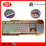 Лидирующий USB клавиатуры компьютера качества СИД цветастым связанный проволокой PC