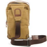 Red Swan Canvas Cross Body Outdoor Travel Sling Chest Bag (RS-8580)