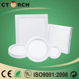 Haute qualité Ctorch LED Surface Round Panellight 6W-24W