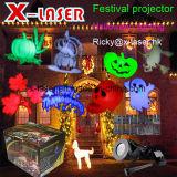 LEIDENE van de Projector van de Lichten van het Landschap van de Motie van Hosyo Spotlights120V Waterdicht met de Verwisselbare Lens van het Patroon 12PCS voor de Motie van de Muur van de Decoratie van het Huis van de Vakantie van Kerstmis