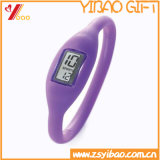 Braccialetto su ordinazione del silicone dell'anione di sport di precisione della vigilanza di /Wristband dell'elastico della vigilanza repellente impermeabile del silicone (XY-HR-78)
