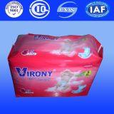 Pañal disponible para los productos del bebé de los pañales de los panales del bebé de la fábrica de China (Y521)