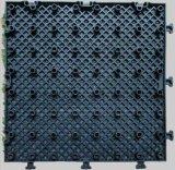 Mattonelle artificiali di collegamento dell'erba del pavimento dell'installazione facile di alta qualità della fabbrica