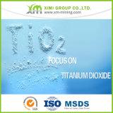 플라스틱을%s 우수한 광택 백색 안료 이산화티탄 TiO2