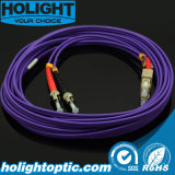 Волокна Sc для двусторонней печати Patchcord St Om4 3,0 мм фиолетовый