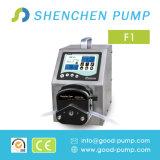 Pompe 12V péristaltique de distribution intelligente de dosage de qualité de série de F mini petite avec la tête