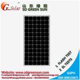 Panneau solaire 36V Mono (260W- 280W) tolérance positive