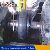 고무 타이어를 가진 유연한 연결을 완료하십시오