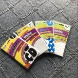 Etiquetas engomadas autas-adhesivo movibles de los carácteres con multicolor