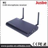 Sistema de audio dual-Pass receptor de micrófono para la Enseñanza M2 2,5 g