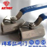 De Kogelklep van het Type van Hexuitdraai van het roestvrij staal 1PC