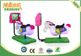 Het muntstuk stelde 3D Machine van het Spel van de Arcade van het Jonge geitje van het Paardrijden in werking