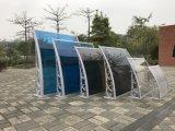 Ombreggiatura vuota della tenda del policarbonato del PC di prezzi di fabbrica 5.2mm