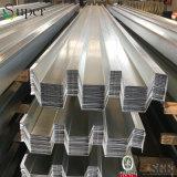 Piattaforma di pavimento usata costruzione lunga del metallo della struttura d'acciaio della portata