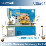 Máquina hidráulica do Ironworker para o aço estrutural