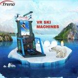 Máquina del cine del esquí de Zhuoyuan 9d Vr, simulador del esquí del casco de Vr