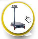 Elektronischer Digital-Preis-rechnentisch-Schuppe