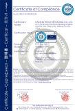 Suelo cómodo del vinilo del PVC de Eco del buen precio con la certificación de Dibt