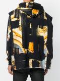 Пуловер Hoodie длинней втулки людей барочный напечатанный