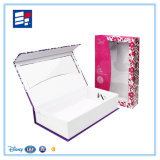 Regalo de papel /Electrónica/Joyería juguetes/embalaje con ventana de PVC