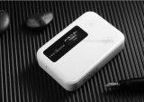 Déverrouillé 3G 4G routeur WiFi poche sans fil routeurs Routeur Lte FDD+WCDMA avec slot Sim Hotspot Banque d'alimentation 5200mAh Port LAN RJ45