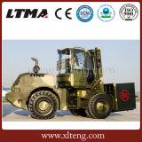 China 4X4 weg vom Straßen-Gabelstapler 5 Tonnen-raues Gelände-Gabelstapler