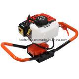 62cc наиболее востребованных легко начать с бензиновым двигателем мощности землетрясения массы шнек
