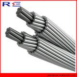 Conductor de aluminio descubierto reforzado acero de aluminio del cable ACSR del conductor