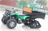 Cuatro lámpara principal 250cc Fram ATV con el neumático de nieve