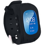 La venta caliente 2017 impermeable con Q50 embroma el reloj elegante del GPS