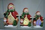 Het Decor van het Huis van Kerstmis van de Houder van de Kaars van de hars