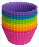 Elementos despensa Camisas Cupcake Silicone / capas de cozedura - 12