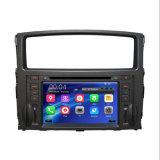 De AutoSpeler DVD van Pajero met GPS DVD RadioStuurwiel voor Mitsubishi