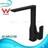 Jd-Wk213B noir mat pivotant en laiton évier de cuisine robinet mélangeur