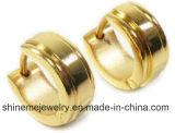 Мода Gold CZ камня Earring ювелирных изделий из нержавеющей стали