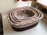 장식적인 Handmade 콘테이너 도매 선전용 수직 버드나무 바구니 (BC-ST1245)