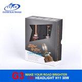 Automobil 30W CREE H11 LED Scheinwerfer 6000k, Scheinwerfer des Auto-LED, LED-Selbstscheinwerfer H1 H3 H7 H13 9005 9006