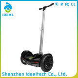 Scooter électrique d'équilibre d'individu de roue de la batterie au lithium deux